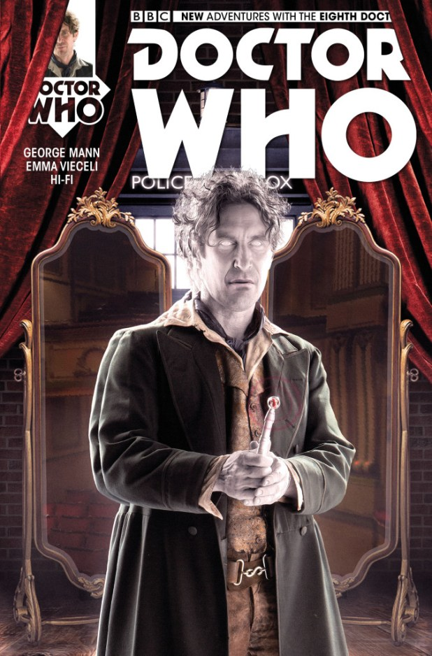 Doctor Who: The Eighth Doctor #3 - Cover B by Will Brooks