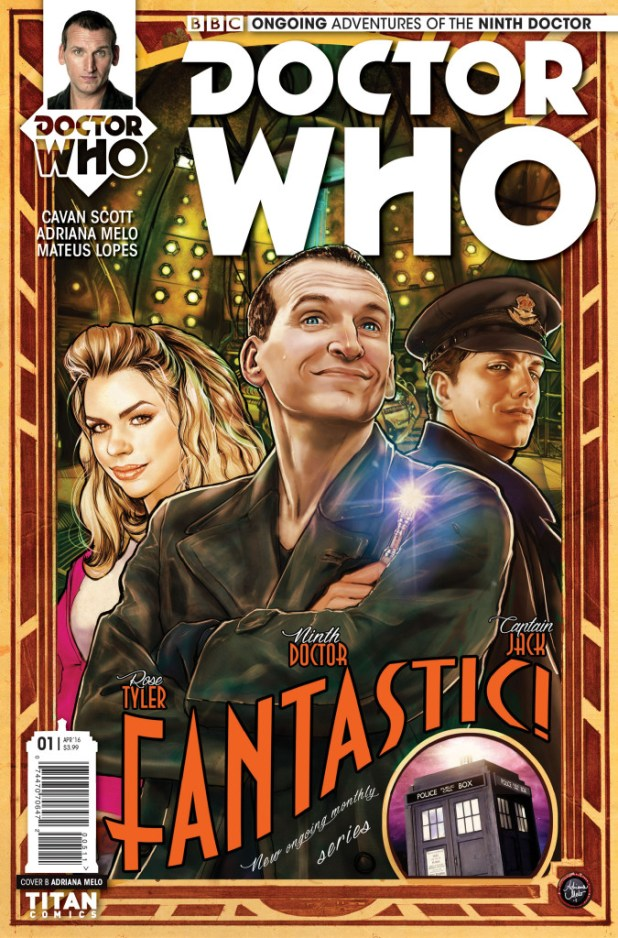 Doctor Who: The Ninth Doctor #1 Ongoing Cover C by Adriana Melo