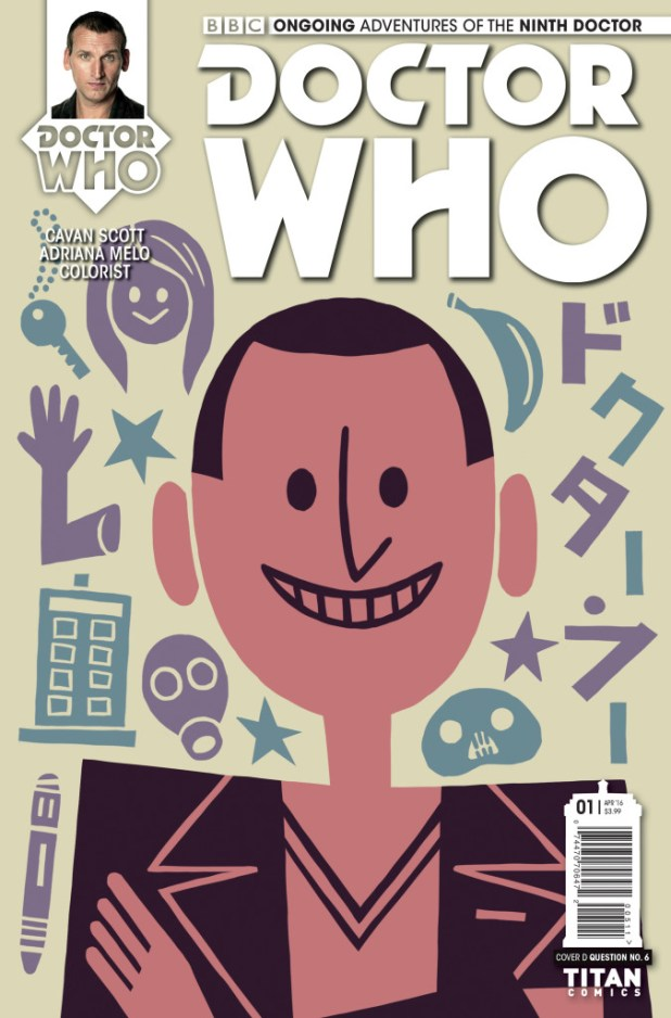 Doctor Who: The Ninth Doctor #1 Ongoing Cover D by Question 6