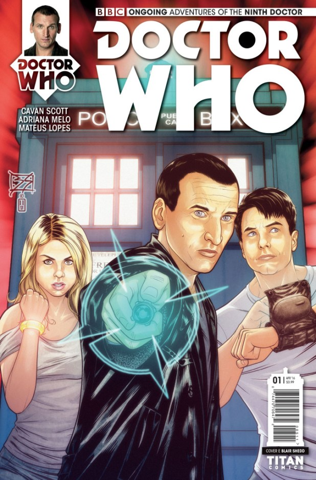 Doctor Who: The Ninth Doctor #1 Ongoing Cover E by Blair Shedd