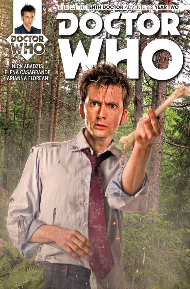 Doctor Who: The Tenth Doctor #2.5 - Cover B