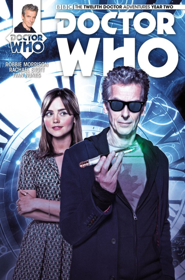 Doctor Who: The Twelfth Doctor – Year Two #1 - Cover B