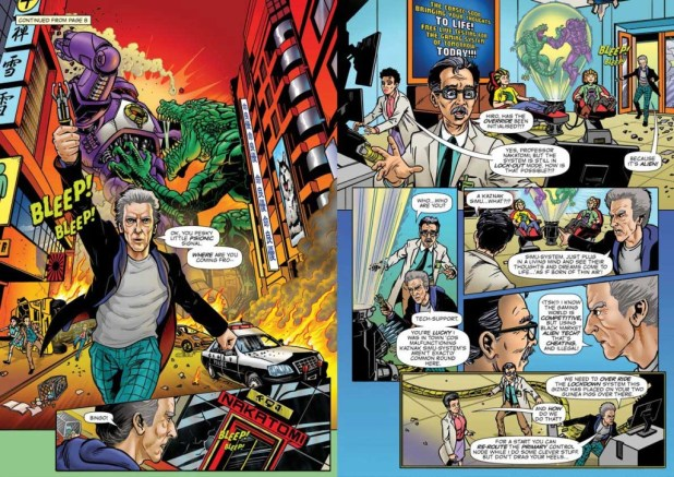 Doctor Who Adventures Issue 10 -  Strip