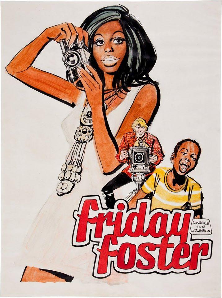 Friday Foster art by Jorje Longaron (Jordi Longarón)