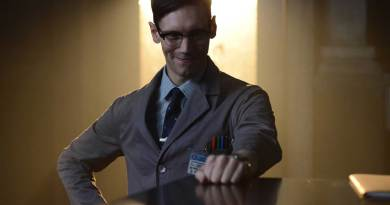 "Cory Michael Smith as Edward Nygma (the Future Riddler) in the Gotham Season 2 episode 2 ""Knock Knock"". Image: Warner Bros."