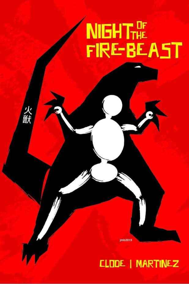 Night of the Firebeast #1 - Cover