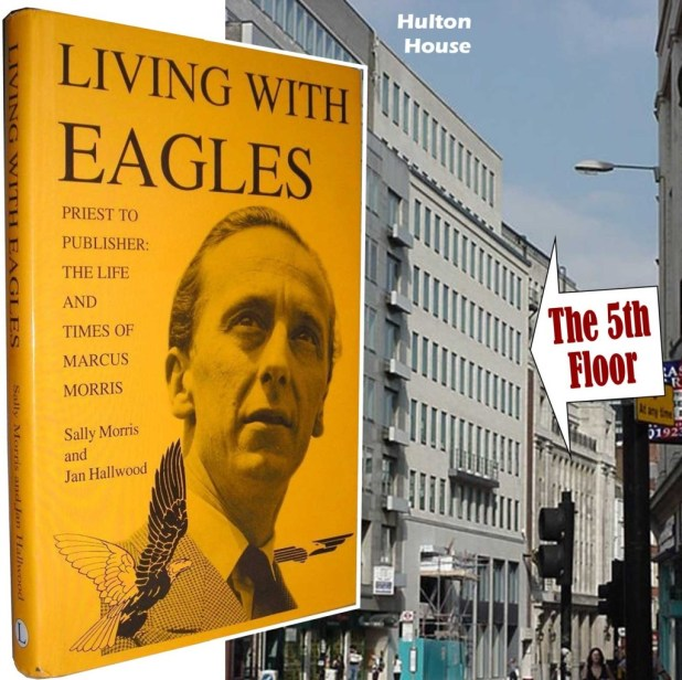 The book of Marcus Morris' life, Living with Eagles and Hulton House