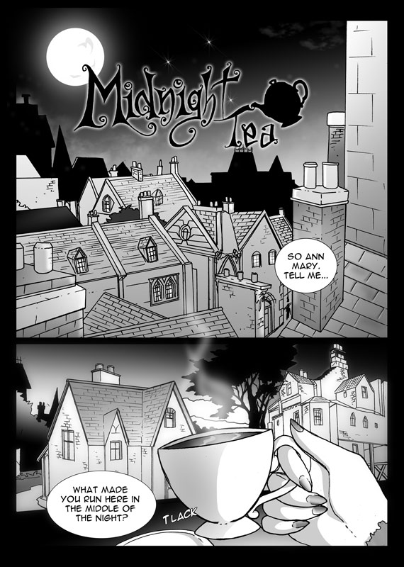 Midnight Tea Page 4 - Inks