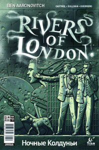 Rivers of London - Night Witch #1 Cover A by Paul McCaffrey