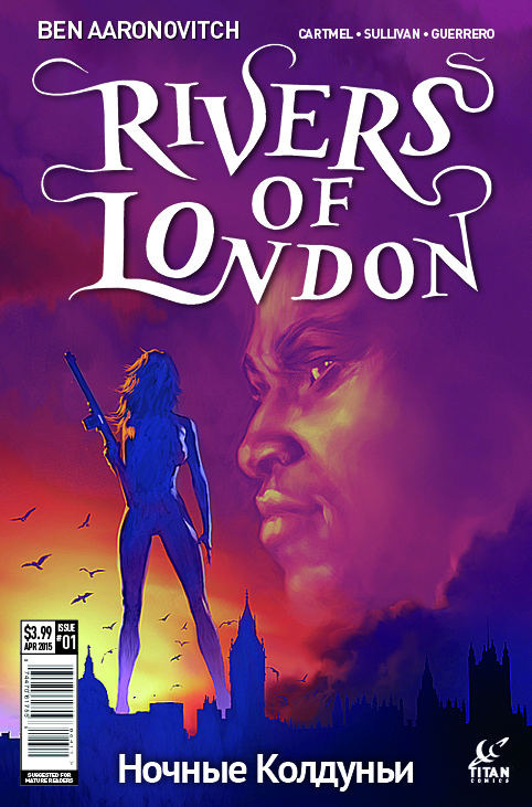 Rivers of London - Night Witch #1 Cover B by Alex Ronald