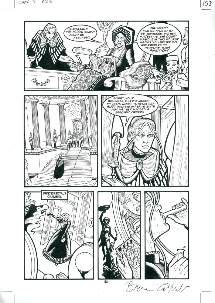 """Bryan Talbot - """"Heart of Empire"""" Chapter 5 Page 26"""