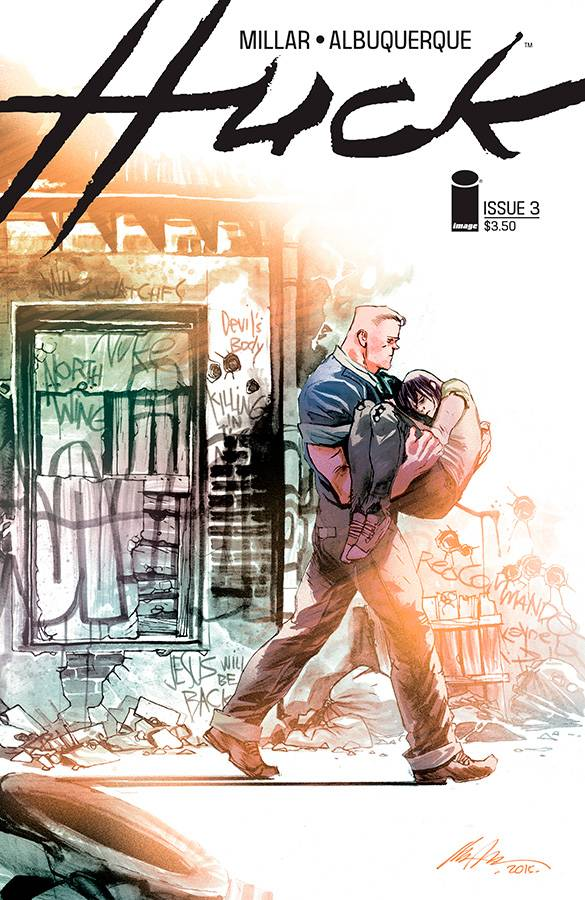 Huck #3 Cover A