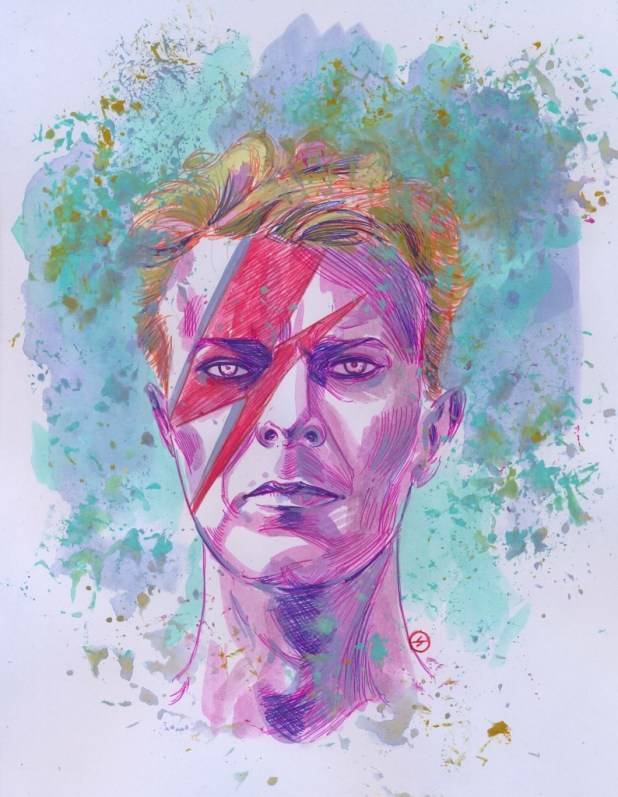 David Bowie by Jesus Antonio Hernandez