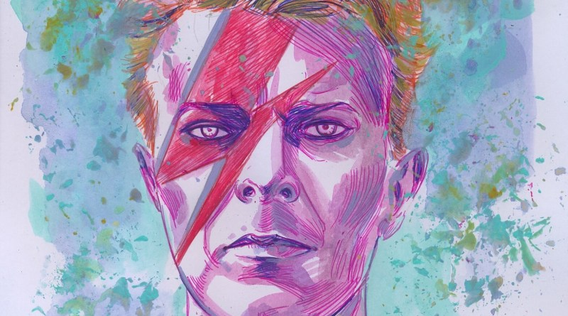 David Bowie by Jesus Antonio Hernandez