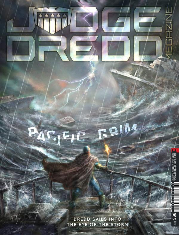 Judge Dredd Megazine 368