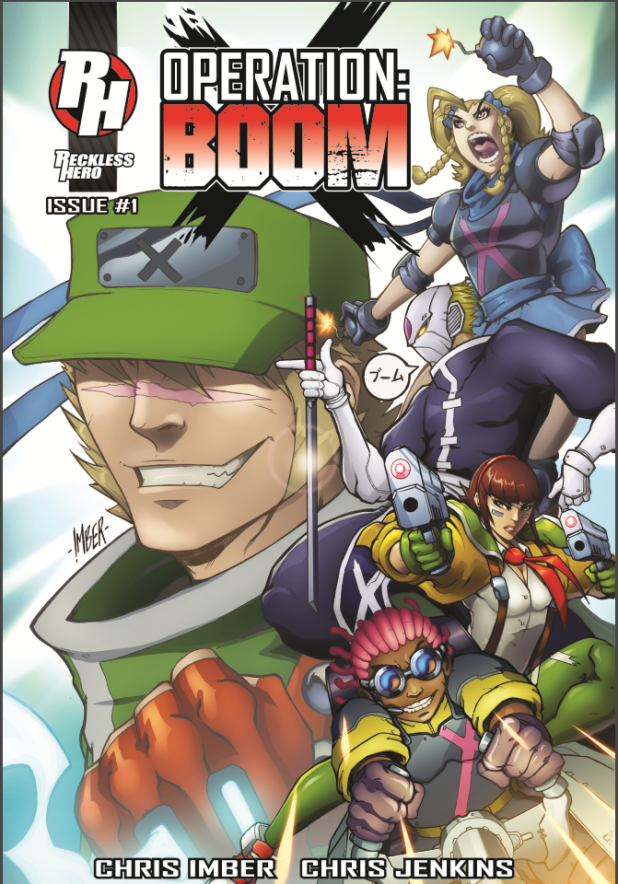 Operation Boom - Cover