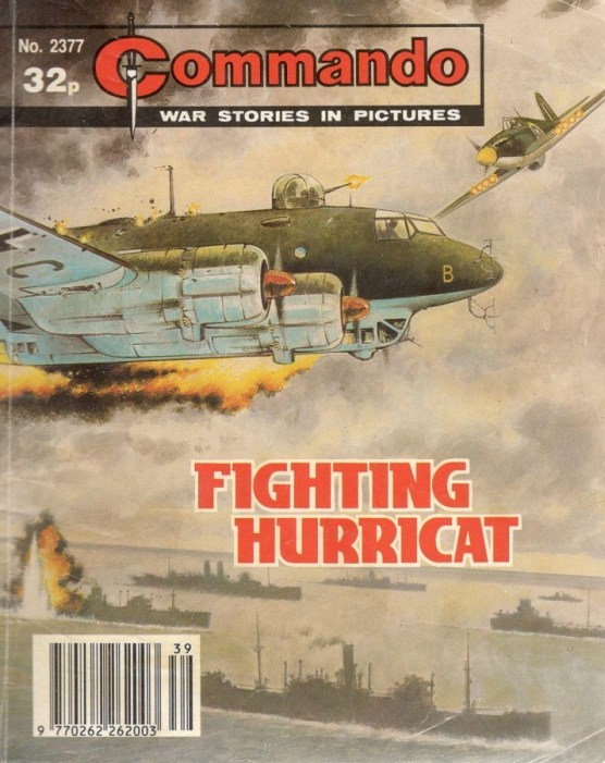 "Commando Issue 2377: ""Fighting Hurricat"""