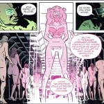 """Art from Kelly Sue DeConnick's """"Bitch Planet"""", published through Image Comics"""