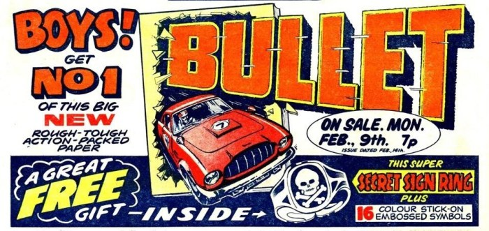 Bullet Issue One Promotional Ad
