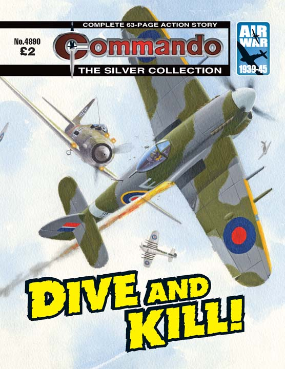 Commando No 4890 – Dive And Kill!