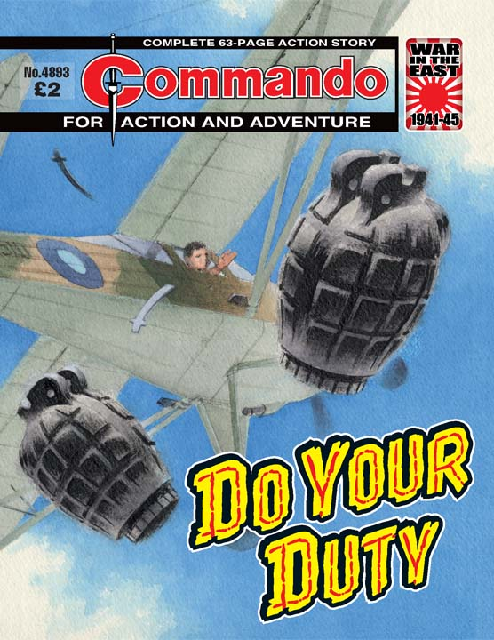 Commando No 4893 – Do Your Duty