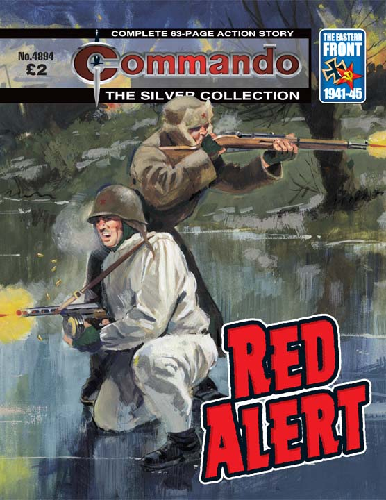 Commando No 4894 – Red Alert