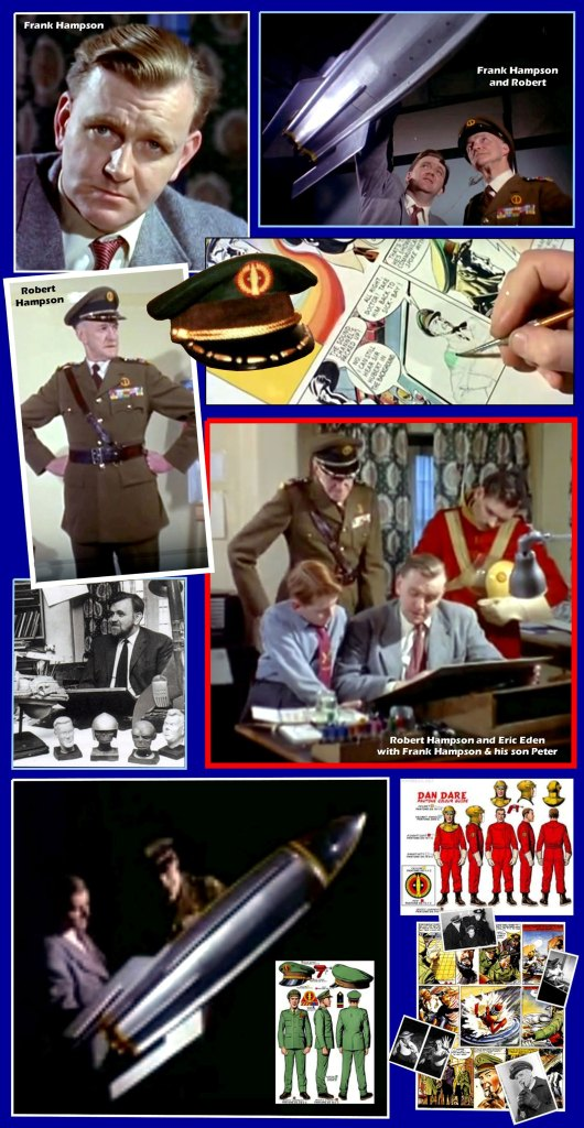 Images from the 1956 British Pathé newsreel film featuring Frank Hampson and others