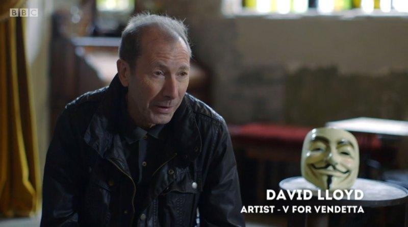 David Lloyd interviewed by Nina Conti on BBC2's Artsnight: Behind the Mask