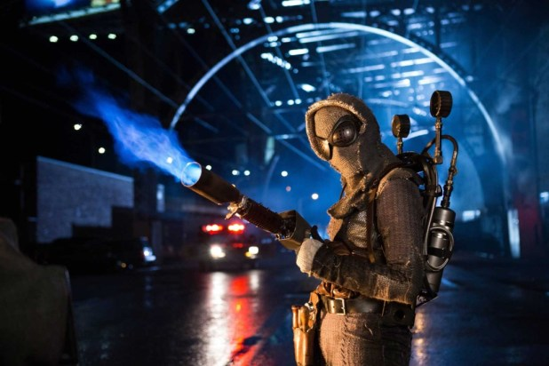 """Michelle Veintimilla as Firefly in the Gotham Season 2, episode  """"By Fire"""""""