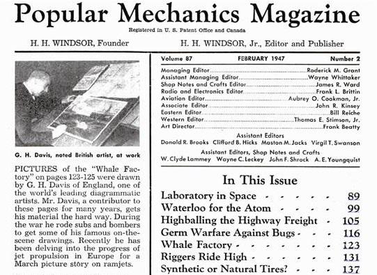Popular Mechanics Magazine V87 N2 Feb 1947
