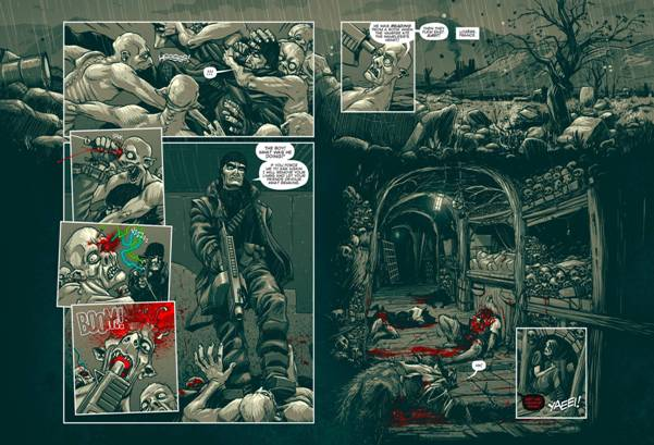Realm of the Damned by Alec Worley and Pye Parr - coming soon to Judge Dredd Megazine