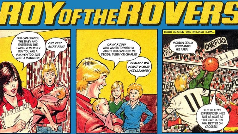 When Saturday Comes: Comic Sporting Heroes of Yesteryear