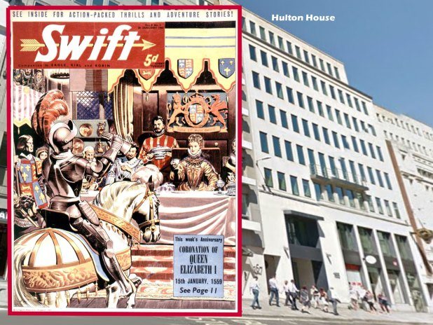 Swift - cover dated 30th January 1962 and Hulton House