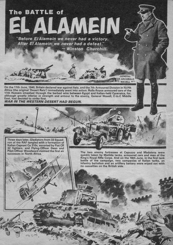 True War 1 El Alamein Jim Watson DTT