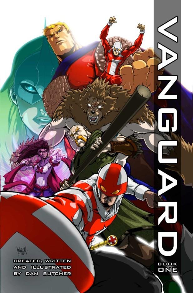 Vanguard Book One - Cover