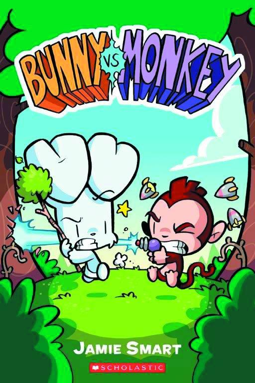 Bunny Vs Monkey Graphic Novel