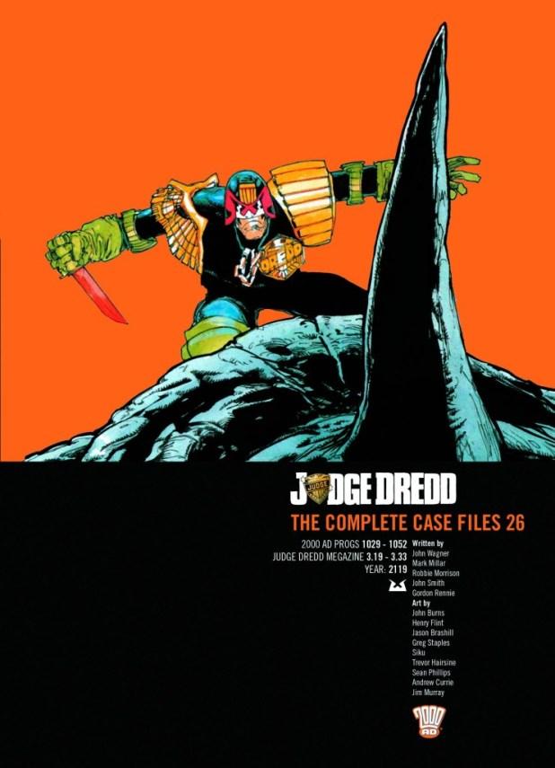 Judge Dredd Complete Case Files Trade Paperback Volume 26
