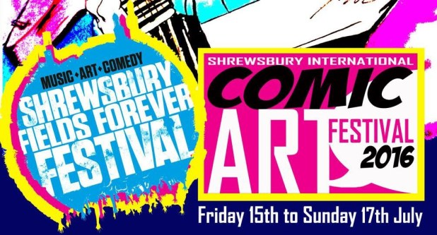 Shrewsbury International Comic Art Festival Promotional Art