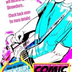 Shrewsbury International Comic Art Festival Promotional Art - Portrait