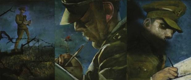 Black Dog – The Dreams of Paul Nash - Sample Art 2
