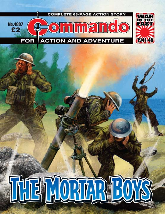 Commando No 4897 – The Mortar Boys