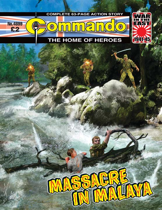 Commando No 4899 – Massacre In Malaya