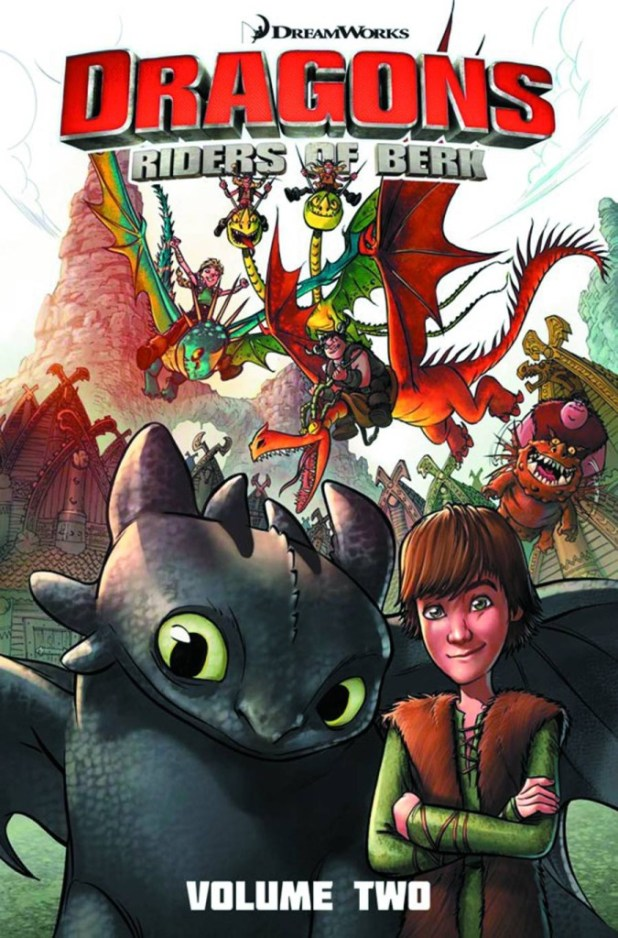 Dragons Riders Of Berk Collection Trade Paperback Volume 2