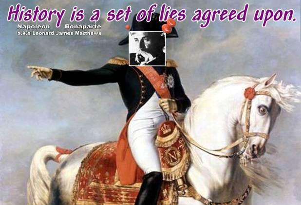 Eagle Daze: Napoleon Bonaparte – a.k.a. Leonard Matthews