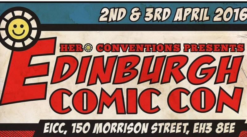 Edinburgh Comic Con 2016 poster snip
