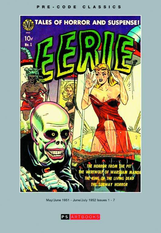Pre Code Classic Avon Eerie Hard Cover Volume 1