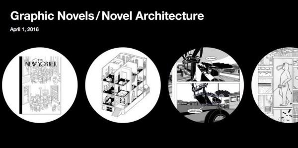 Graphic Novels/ Novel Architecture 2016 Banner