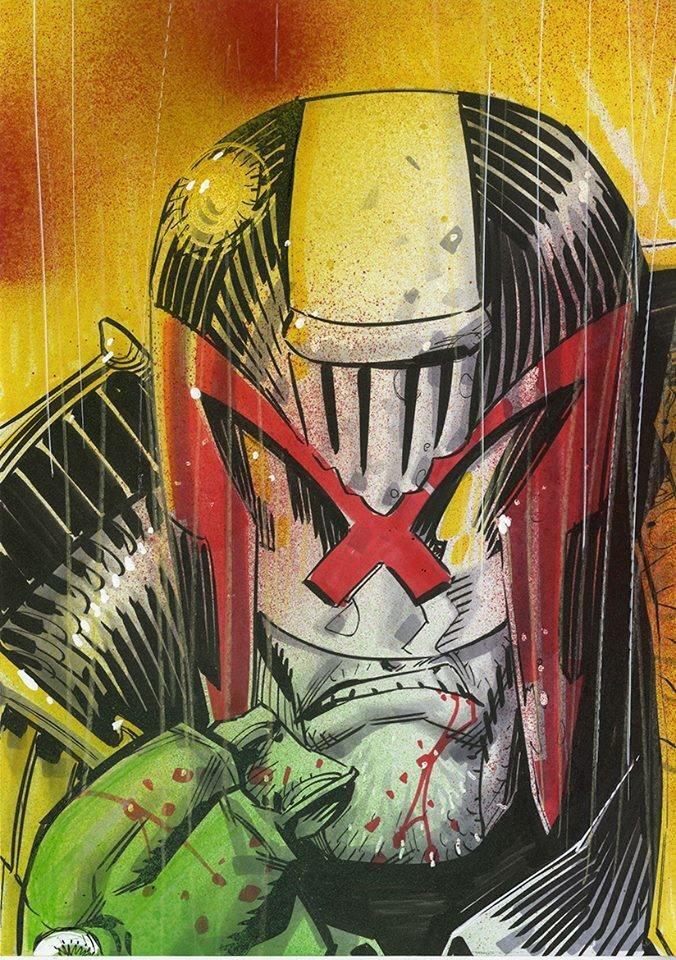 Judge Dredd by John McCrea