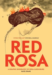 Red Rosa by Kate Evens