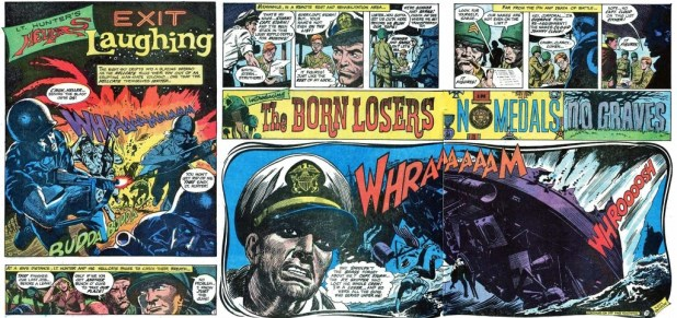 Our Fighting Forces #123. So long Hellcats, Hello Losers - by Bob Kanigher and Ken Barr.